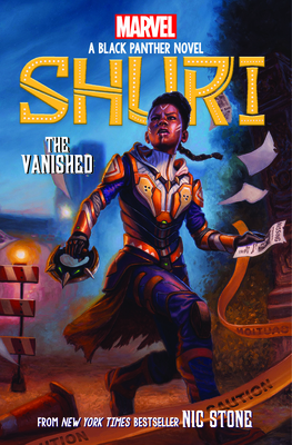 The Vanished (Shuri: A Black Panther Novel #2) Cover Image