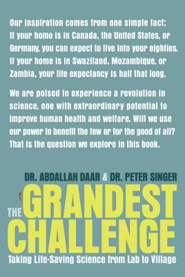 The Grandest Challenge: Taking Life-Saving Science from Lab to Village Cover Image