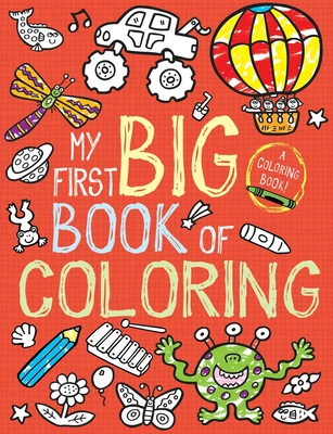 My First Big Book of Coloring Cover Image