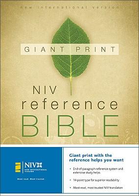 Giant Print Reference Bible-NIV Cover Image