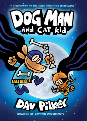 Dog Man and Cat Kid Cover Image