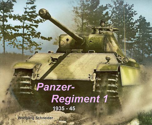 Panzer Regiment 1: 1935-45 Cover Image