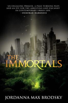 The Immortals (Olympus Bound #1) Cover Image