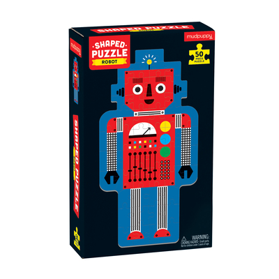 Robot 50 Piece Shaped Character Puzzle Cover Image