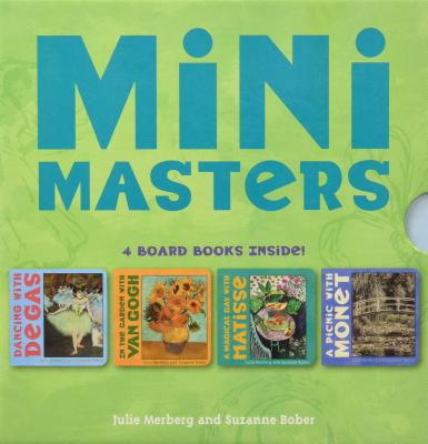 Mini Masters Boxed Set (Baby Board Book Collection, Learning to Read Books for Kids, Board Book Set for Kids) Cover Image