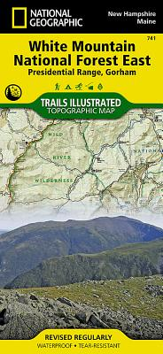 White Mountain National Forest East [presidential Range, Gorham] (National Geographic Maps: Trails Illustrated #741) Cover Image