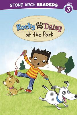 Rocky and Daisy at the Park (Stone Arch Readers: My Two Dogs) Cover Image