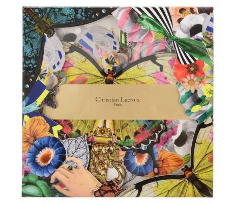 Christian Lacroix Frivolites Fan Diecut Boxed Notecards Cover Image