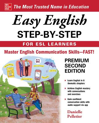 Easy English Step-By-Step for ESL Learners, Second Edition Cover Image
