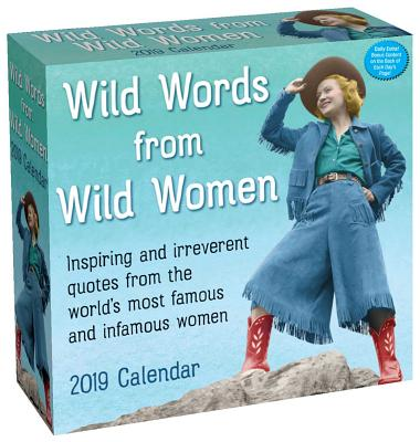 Wild Words from Wild Women 2019 Day-to-Day Calendar Cover Image