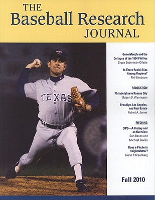 Baseball Research Journal (BRJ), Volume 39 #2 Cover Image