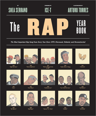 The Rap Year Book book cover