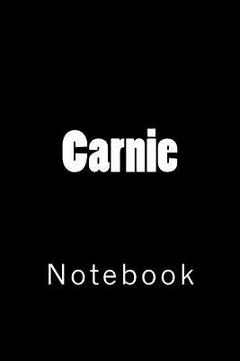 Carnie: Notebook Cover Image