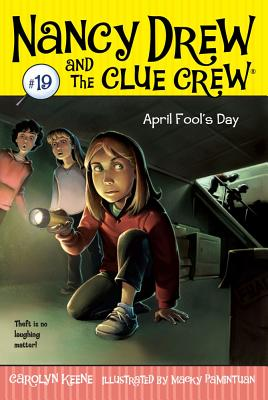 April Fool's Day (Nancy Drew and the Clue Crew #19) Cover Image