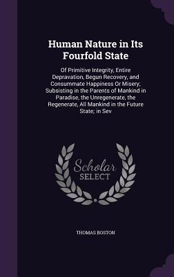 Cover for Human Nature in Its Fourfold State