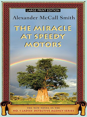 The Miracle at Speedy Motors (No. 1 Ladies Detective Agency #9) Cover Image