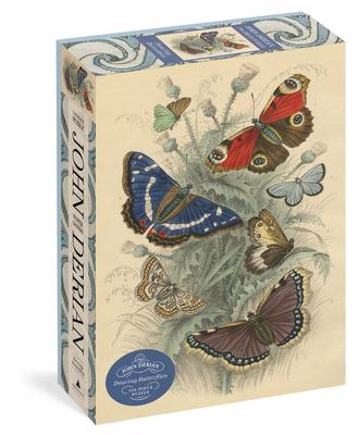 John Derian Paper Goods: Dancing Butterflies 750-Piece Puzzle Cover Image