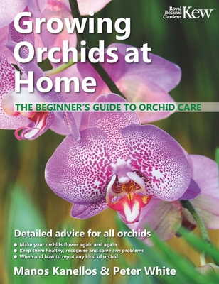 Growing Orchids at Home: The Beginner's Guide to Orchid Care Cover Image
