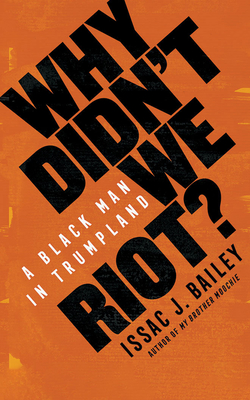 Cover for Why Didn't We Riot?