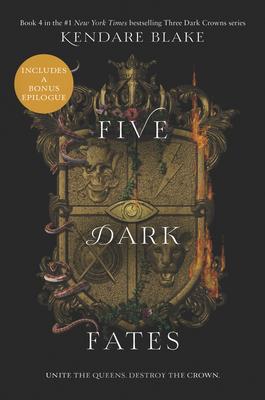 Five Dark Fates (Three Dark Crowns #4) Cover Image