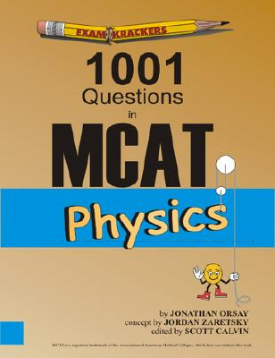 Examkrackers 1001 Questions in MCAT Physics Cover Image