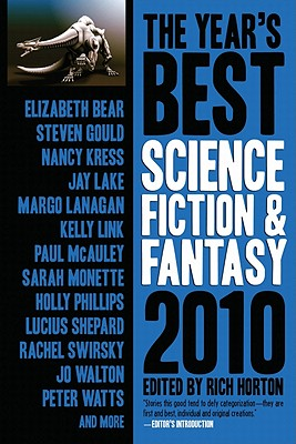 The Year's Best Science Fiction and Fantasy Cover
