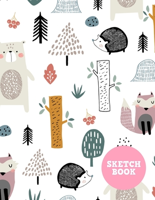 Sketch Book: Cute Note Pad for Drawing, Writing, Painting, Sketching or Doodling - Art Supplies for Kids, Boys, Girls, Teens Who Wa Cover Image