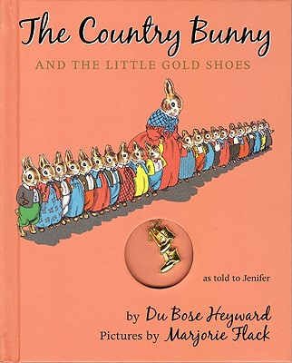 The Country Bunny and the Little Gold Shoes Gift Edition with Charm Cover Image