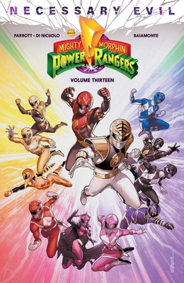 Mighty Morphin Power Rangers Vol. 13 Cover Image