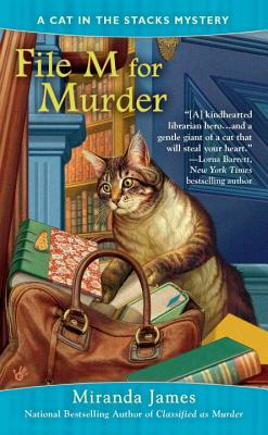 File M for Murder (Cat in the Stacks Mystery #3) Cover Image