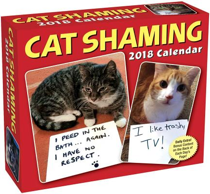 Cat Shaming 2018 Day-to-Day Calendar Cover Image