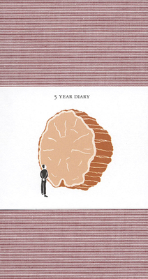 5 Year Diary: Red Cover Cover Image