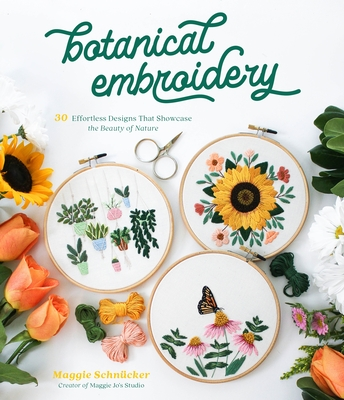 Cover for Botanical Embroidery