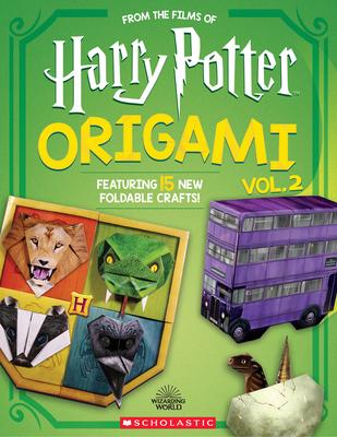 Harry Potter Origami Volume 2 (Harry Potter) (Media tie-in) Cover Image