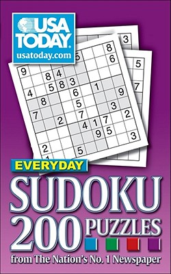 USA TODAY Everyday Sudoku: 200 Puzzles from The Nation's No. 1 Newspaper (USA Today Puzzles #7) Cover Image