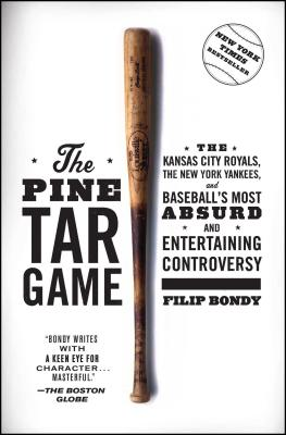 Cover for The Pine Tar Game