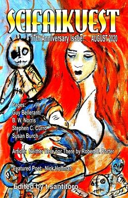 Scifaikuest August 2020 Cover Image