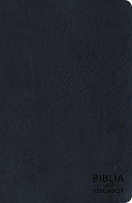 Cover for RVR 1960 Biblia del Pescador letra grande, azul símil piel