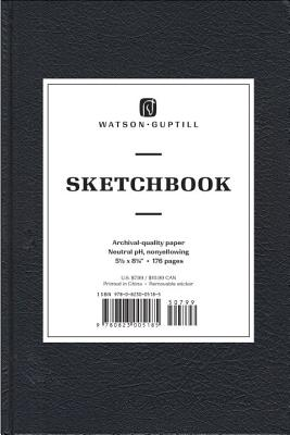 Medium Sketchbook (Kivar, Black) Cover