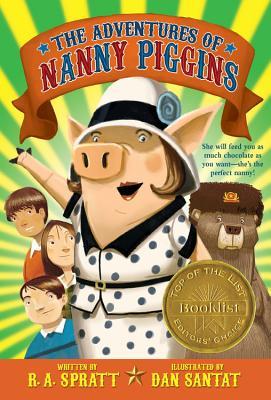 The Adventures of Nanny Piggins Cover