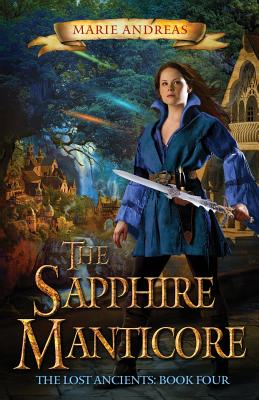 The Sapphire Manticore (Lost Ancients #4) Cover Image