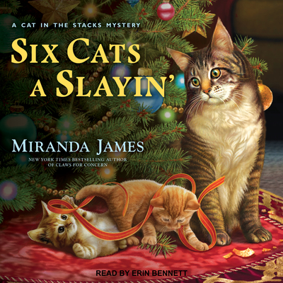 Six Cats a Slayin' (Cat in the Stacks Mystery #10) Cover Image