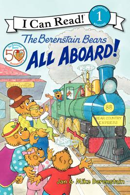 The Berenstain Bears: All Aboard! Cover Image