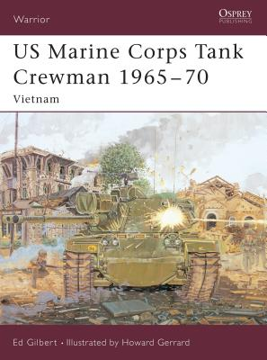US Marine Corps Tank Crewman 1965 70 Cover