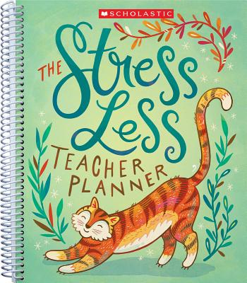 The The Stress Less Teacher Planner Cover Image