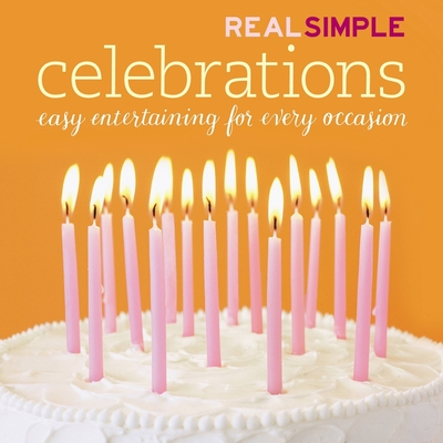 Real Simple Celebrations [With Party by Number Wheel] Cover