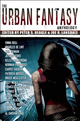 The Urban Fantasy Anthology Cover Image