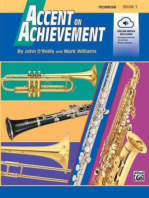 Accent on Achievement, Bk 1: Trombone, Book & CD Cover Image