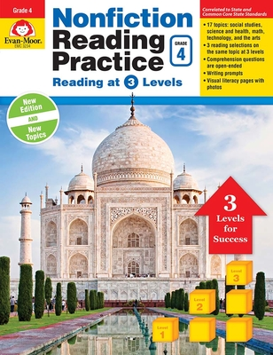Nonfiction Reading Practice, Grade 4 Cover Image