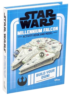 Star Wars Millennium Falcon Activity Book and Model
